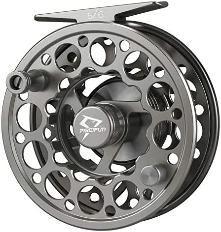 5//6, Sword Fly Fishing Reel with CNC-machined Aluminum Alloy Body 3//4
