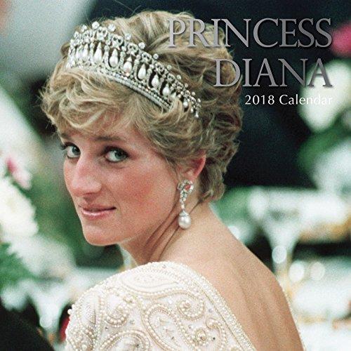 2018 Princess Diana Calendar - 12 x 12 Wall Calendar - With 210 Calendar Stickers