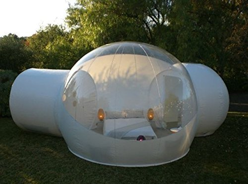 RelaxNow(TM) 2 Tunnel Transparent Bubble Tent ... & RelaxNow(TM) 2 Tunnel Transparent Bubble Tent Outdoor Inflatable ...
