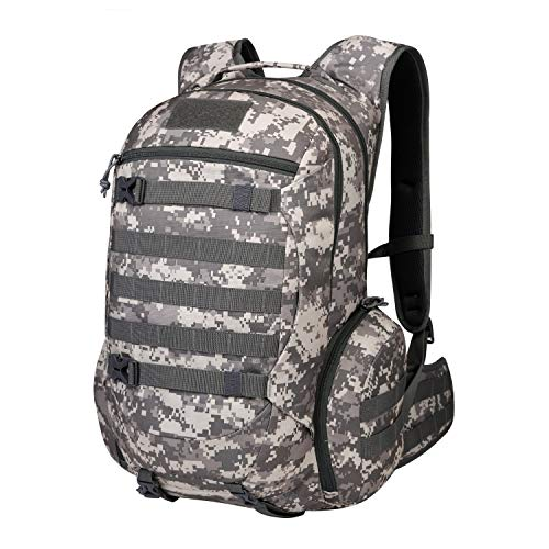 - Mardingtop 35L Tactical Backpacks Molle Hiking daypacks for Camping Hiking Military Traveling Camo Khaki Grid-5962