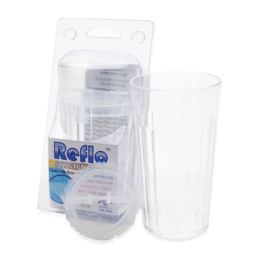 Reflo 360 Rotating Spoutless Training Cup for Baby, Kids and Toddlers