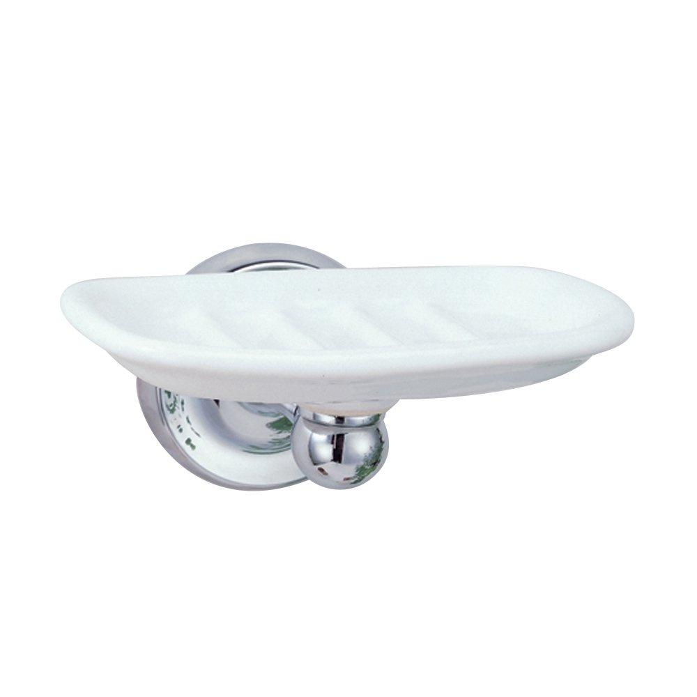 Gatco 5075 Designer II Soap Dish, Chrome