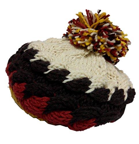 Dealzip Inc® Fashion and Lovely Braided Circle Pattern Women Lady Winter Knitting (Cap Knitting Pattern)