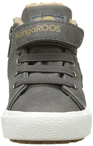 KangaROOS Kavu Iii - Zapatillas Unisex Niños Grau (dk Grey/sand 211)