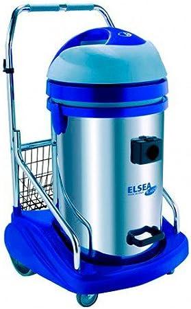 Elsea – Aspirador de agua (76 litros acero inoxidable – con bomba ...