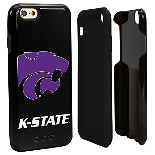 Guard Dog NCAA Kansas State Wildcats Hybrid iPhone 6 Case, Black, One Size