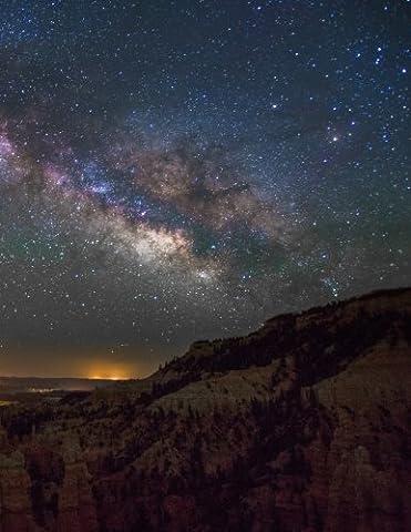 Milky Way Galaxy Desert Notebook: 8.5 X 11 202 College Ruled Pages (Galaxy College Ruled Notebook)