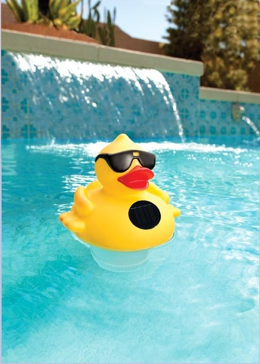 Amazon Com Game 8002 Solar Light Up Duck Pool