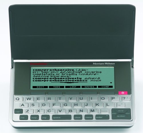 Franklin MWD-1490 Merriam-Webster Dictionary and Thesaurus with Comprehensive Reference Set by Franklin Electronics