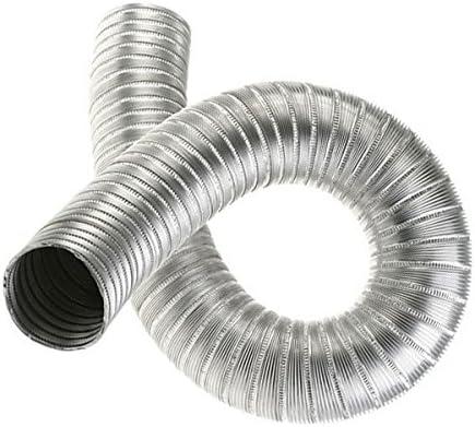 Tuyau flexible en aluminium Conduit dair flexible en alliage Conduit de ventilateur flexible 70 mm