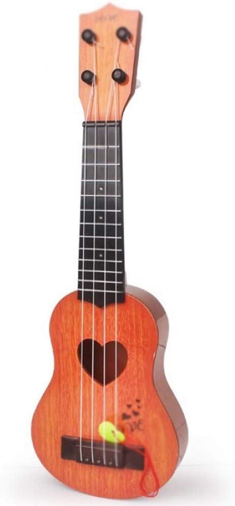 AZSUT Guitarra, Cuatro Cuerdas, Regalos para niños, Instrumentos ...