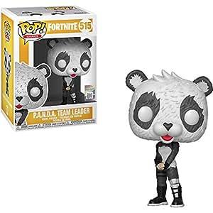 Funko Panda Team Leader Pop Games Vinyl Figure & 1 Compatible Graphic Protector Bundle (41020 - B)
