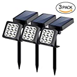 Solar Spotlights, 9-LED Landscape Solar Lights, Adjustable Waterproof Outdoor Spotlight Security 2-in-1 Solar - Best Reviews Guide