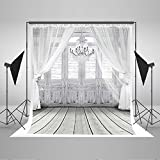 Kate 20x10ft/6x3m Photography Backdrop Fundo White Chandelier Doors 3D Baby Photography Backdrop Background for Wedding LK-2086