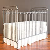Bratt Decor joy baby crib pewter