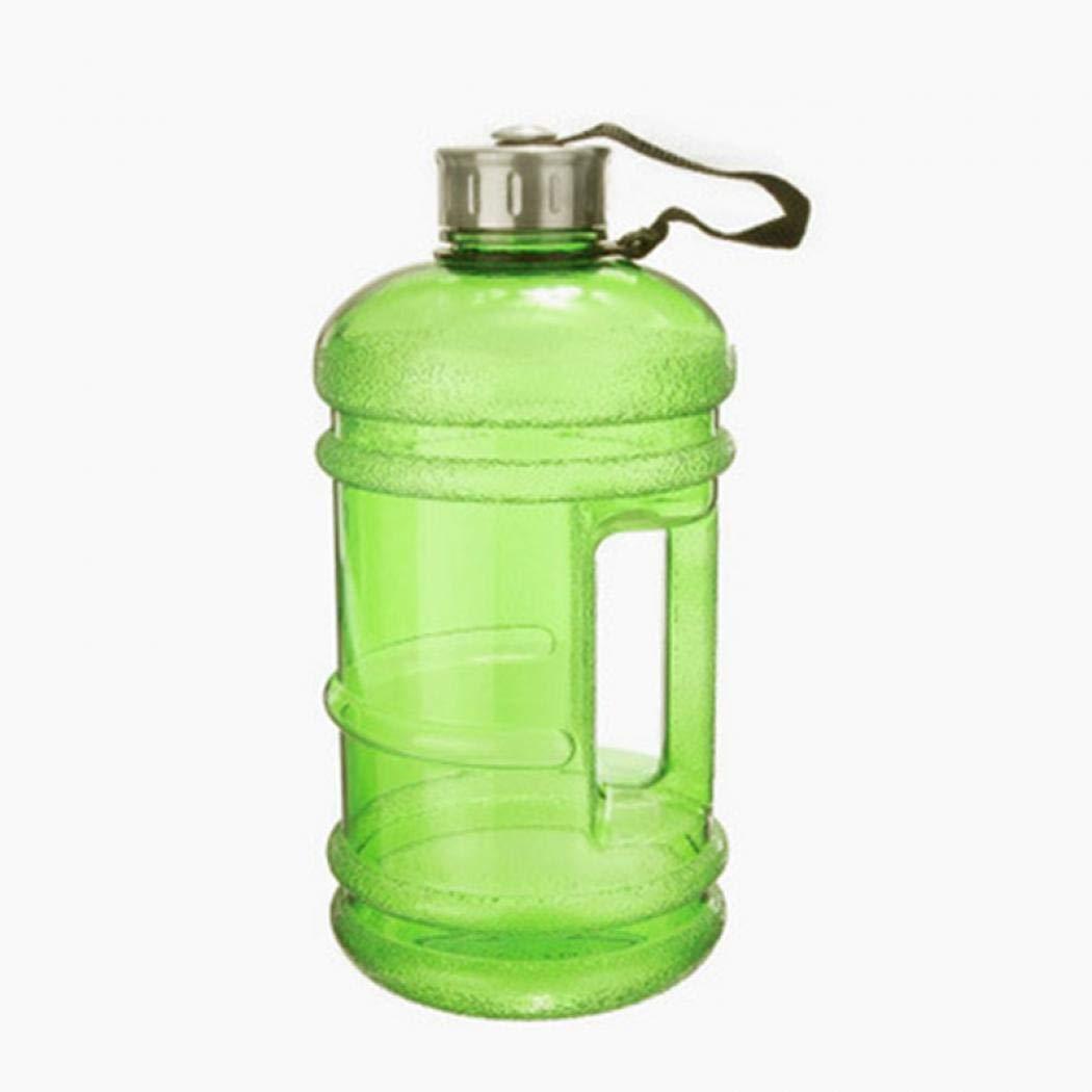 BPA Free Reusable Leak-Proof Drinking Water Bottle w//48mm Stainless Steel Light blue
