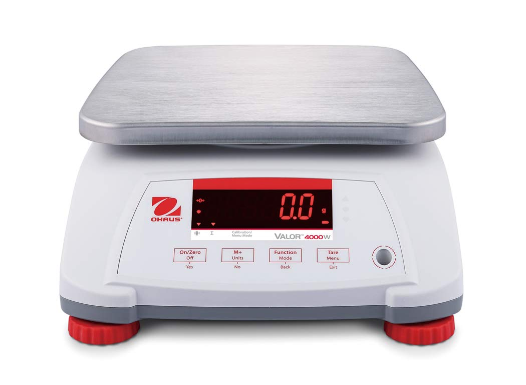 The Amazing Ohaus V41PWE1501T Valor 4000 Legal For Trade Food Scale-1.5 kg/3 lb
