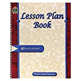 TEACHER CREATED RESOURCES LESSON PLAN BOOK (Set of 12)