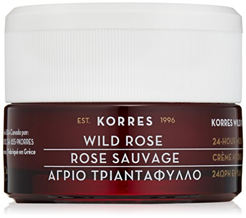 Korres 24-Hour Moisturising and Brightening Cream, Wild Rose, 1.35 Ounce image