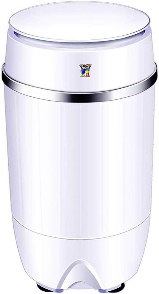 Lavatrice Singola Vasca Portatile da 3 kg Rondella di capacit/à Totale E Centrifuga Combinata Compatta Tecnologia di Sterilizzazione con Luce Blu per Campeggio Stanze Universitarie