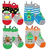 Ez Sox Kids Animal Socks Seamless toe