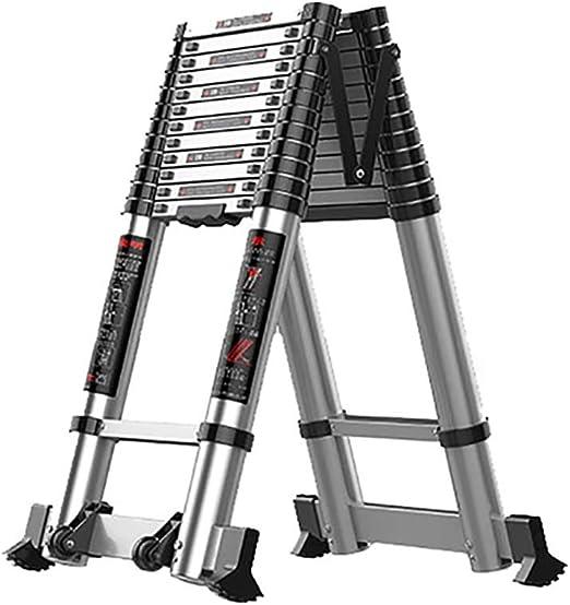 Escalera extensible Escalera telescópica Multipropósito Aleación ...