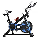 #8: BestMassage Health & Fitness Cycling Bike Cardio Exercise Home Indoor Spin Bike