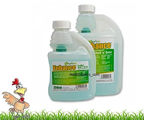 AGRIVITE ENHANCE 500ml POULTRY CALCIUM LIQUID SUPPLEMENT AVIARY BIRDS PIGEON Healthyhens