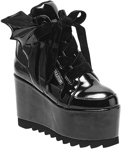 Chaussures femme Chaussures Baskets pour Femme Noir Noir