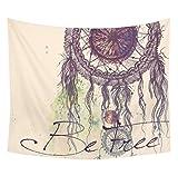 Morecome Hippie Tapestry Beach Throw Mandala Towel Yoga Mat (Multicolor 2)