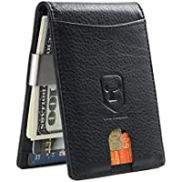 Cow Staunch Men's Front Pocket Wallet (Black)
