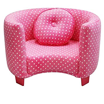 Attractive Newco Kids Comfy Chair, Pink Dots