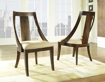 amazon com manhattan slipper chair set of 2 chairs