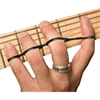 Riff BANDZ - Training Bands For Guitar Bass Piano Finger Speed System - Premium Set of 3 Hand Strengthener Accessories