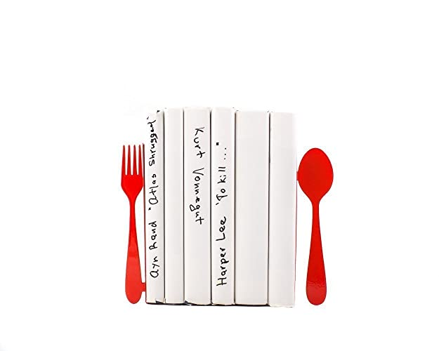 Decorative Bookends For Your Kitchen U0026quot;Fork And Spoonu0026quot;. Kitchen  Decor.