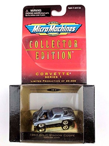 Corvette Window 1963 Coupe Split (Micro Machines Collectors Edition Corvette 1963 Split Window Coupe)