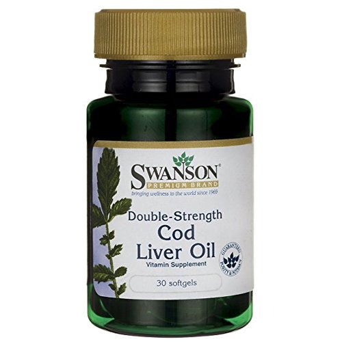 Swanson Double Strength Cod Liver Sgels