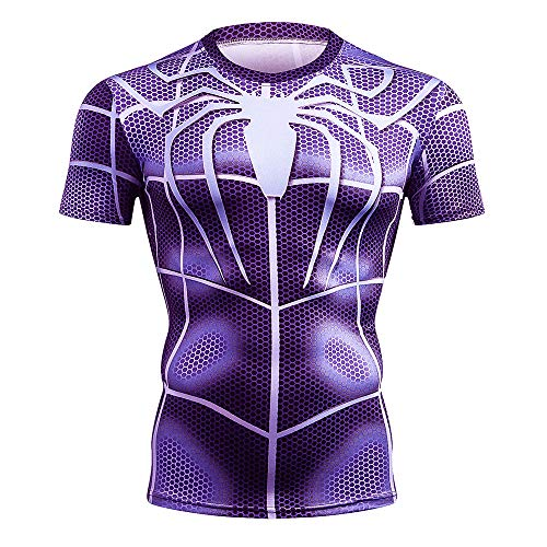 CoolMore Super Hero Compression T Shirts Short Sleeve