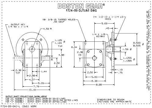 EN45470-FMG Boston GearJUMBO M-FRL 1-1//4 M//SG