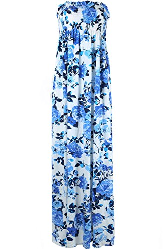 flower bandeau dress - 7