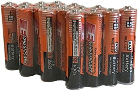 24 Pack AAA Batteries Heavy Duty 1.5v Wholesale Lot New Fresh