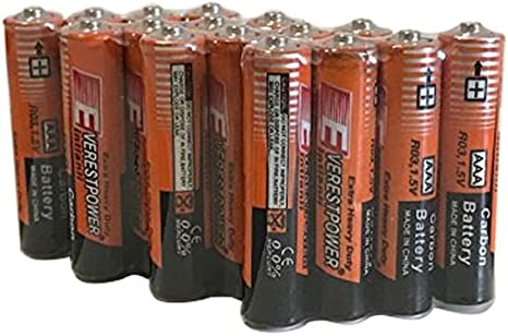 24 Pack AAA Batteries Heavy Duty 1.5v Wholesale Lot New Fresh