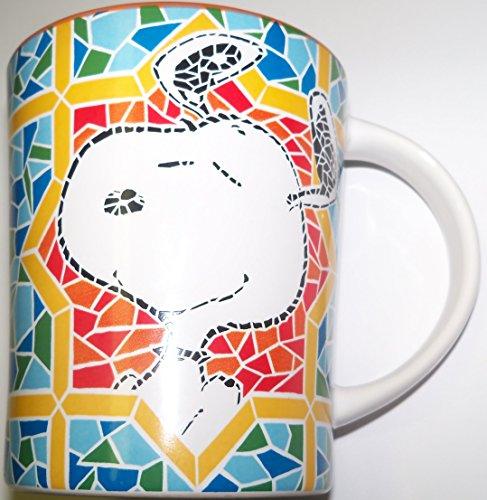 Peanuts Snoopy Shining Star Mosiac Style 15 oz. - The Shining Coffee Mug