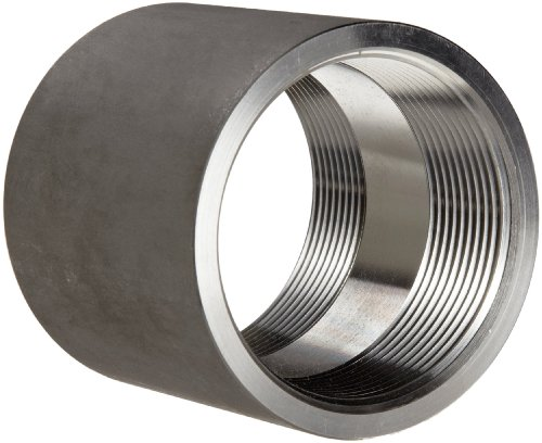 Stainless Coupler - Stainless Steel 316 Pipe Fitting, Coupling, Class 1000, 1/2