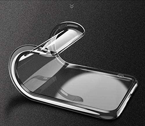 -Clear 6.3 HYMY Funda para Doogee N20 Smartphone 2 x Vidrio Templado Protectores Pantalla Transparente Clear TPU Silicona Suave Gel Caja Cover Tapa Caso Carcasa Cubierta para Doogee N20