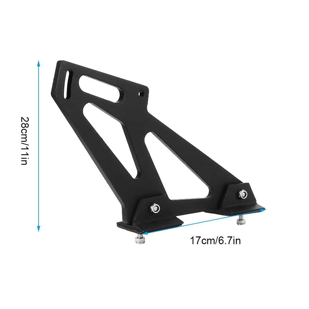 Suuonee Spoiler Legs Universal Car CNC Aluminum Alloy Rear Wing Trunk Racing Tail Spoiler Legs Mount Brackets