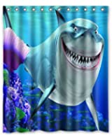 ScottShop Custom Finding Nemo Shower Curtain Waterproof Anti Mildew Polyester Fabric Bathroom Curtains 60