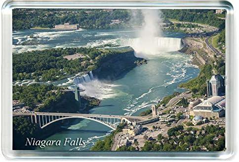I014 Niagara Falls New York Fridge Magnet USA United States Travel Refrigerator Magnet