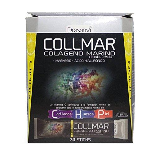 COLLMAR COLAGENO MARINO 20 STICKS SABOR LIMON DRASANVI: Amazon.es: Salud y cuidado personal