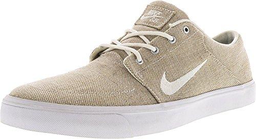 Nike Mens Sb Portmore Duk Premium Ankel-hög Skateboard Sko Vit / Vit / Svart